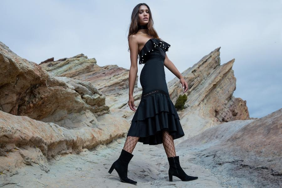 Photoshoot at Vasquez Rocks, Cali