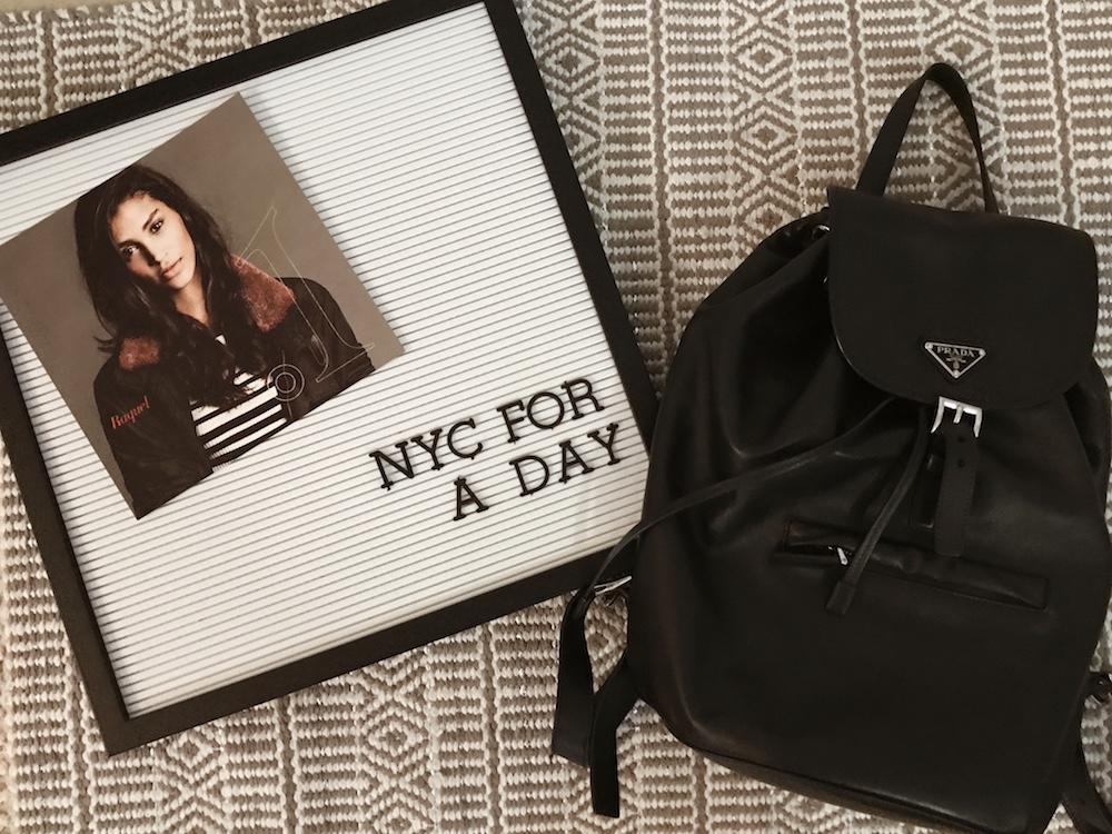 What's in my bag for a day trip to New York City